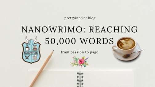 Nanowrimo Reaching 50,000 Words