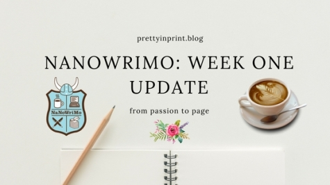 Nanowrimo Week One Update