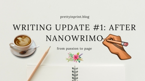 Writing Update One After Nanowrimo