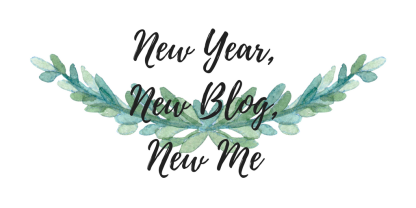 New Year, New Blog, New Me